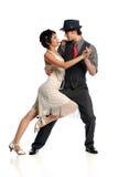 Tango del baile de los pares Imagen de archivo libre de regalías