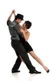 Tango del baile de los pares Fotografía de archivo