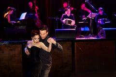 Tango dell'Argentina Fotografia Stock