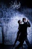 Tango dell'Argentina Immagine Stock