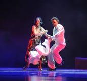 Tango dell'Carnevale-Argentina Fotografie Stock Libere da Diritti