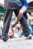 Tango in der Straße Stockfoto