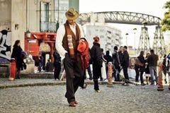 Tango em Buenos Aires Fotografia de Stock