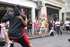 Tango en Buenos Aires Fotografía de archivo libre de regalías