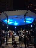 Tango en la noche Imagen de archivo libre de regalías
