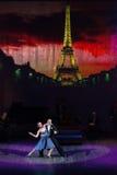 Tango en París Fotografía de archivo libre de regalías