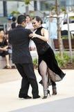 Tango en stationnement Photos stock
