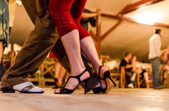 Tango flirt Stock Images