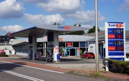 Tango gas station Stock Images