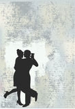Tango Grunge Background Stock Image