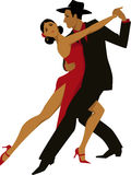 Tango royalty free illustration