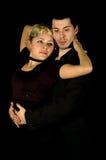 Tango hug Royalty Free Stock Image