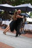 Tango i Buenos Aires Royaltyfri Foto