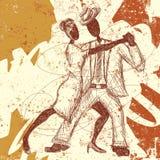 Tango kochankowie Zdjęcie Royalty Free