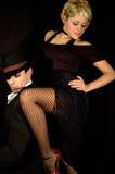 Tango leg Stock Images