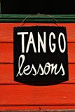 Tango Lessons Royalty Free Stock Images