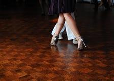 Tango in Londen Royalty-vrije Stock Foto's