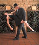 Tango move Royalty Free Stock Photo