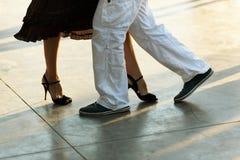 Tango op de straat Stock Foto's