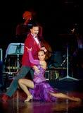 Tango Pasion, demostración del mes pasado del tango Fotografía de archivo
