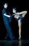 Tango Pasion, demostración del mes pasado del tango Imágenes de archivo libres de regalías
