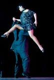 Tango Pasion, demostración del mes pasado del tango Fotos de archivo