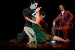 Tango Pasion, demostración del mes pasado del tango Imagen de archivo libre de regalías