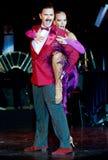 Tango Pasion, demostración del mes pasado del tango Imagen de archivo