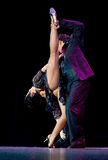 Tango Pasion, demostración del mes pasado del tango Foto de archivo libre de regalías