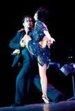 Tango Pasion, demostración del mes pasado del tango Foto de archivo