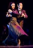 Tango Pasion, mostra Ultimo do tango Imagem de Stock Royalty Free