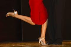 Tango show in Italy Stock Photo