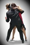 Tango ST_6064. Young couple dancing Tango in the street stock images