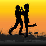 Tango Sunset Royalty Free Stock Photos