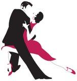 Tango tancerze Royalty Ilustracja