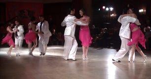 Tango tancerze Obrazy Royalty Free