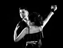 Tango taniec obrazy stock