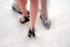 Tango taniec Zdjęcie Stock