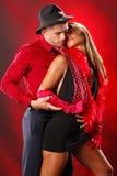 tango till två Royaltyfria Bilder