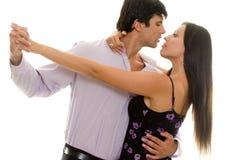 tango till två Fotografering för Bildbyråer