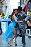 Tango. Un Tango callejero por Buenos Aires Royalty Free Stock Photos