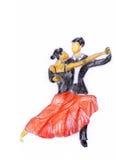 Tango2 Hand-painted Ilustração Stock