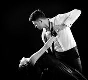 Tangodans arkivbilder