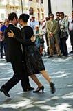 Tangodansare 141 Arkivbilder