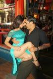 Tangodansare i Buenos Aires Arkivfoto