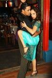 Tangodansare i Buenos Aires Royaltyfria Foton
