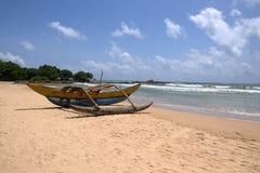 Tangon à la plage de Bentota Images stock