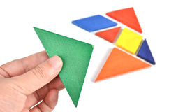 Tangram Stock Photography