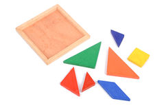 Tangram Royalty Free Stock Photography