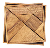 Tangram - Chinese puzzle game Royalty Free Stock Photography